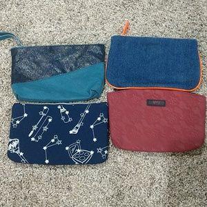 ipsy bags set of 4.